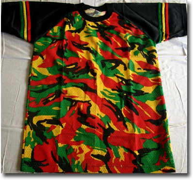 Reggae Mesh Tee Shirts Reggae And Rasta Hawaii Clothing