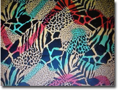 animal print backgrounds. Sarong with large animal print